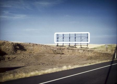 Baxter, Sign, Highway17, near Sudbury, Ontario, 1969-2005